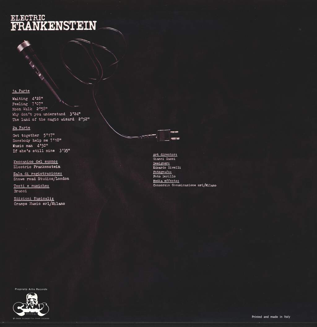 Electric Frankenstein: What Me Worry?, LP (Vinyl)