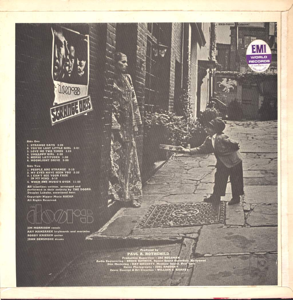 The Doors: Strange Days, LP (Vinyl)