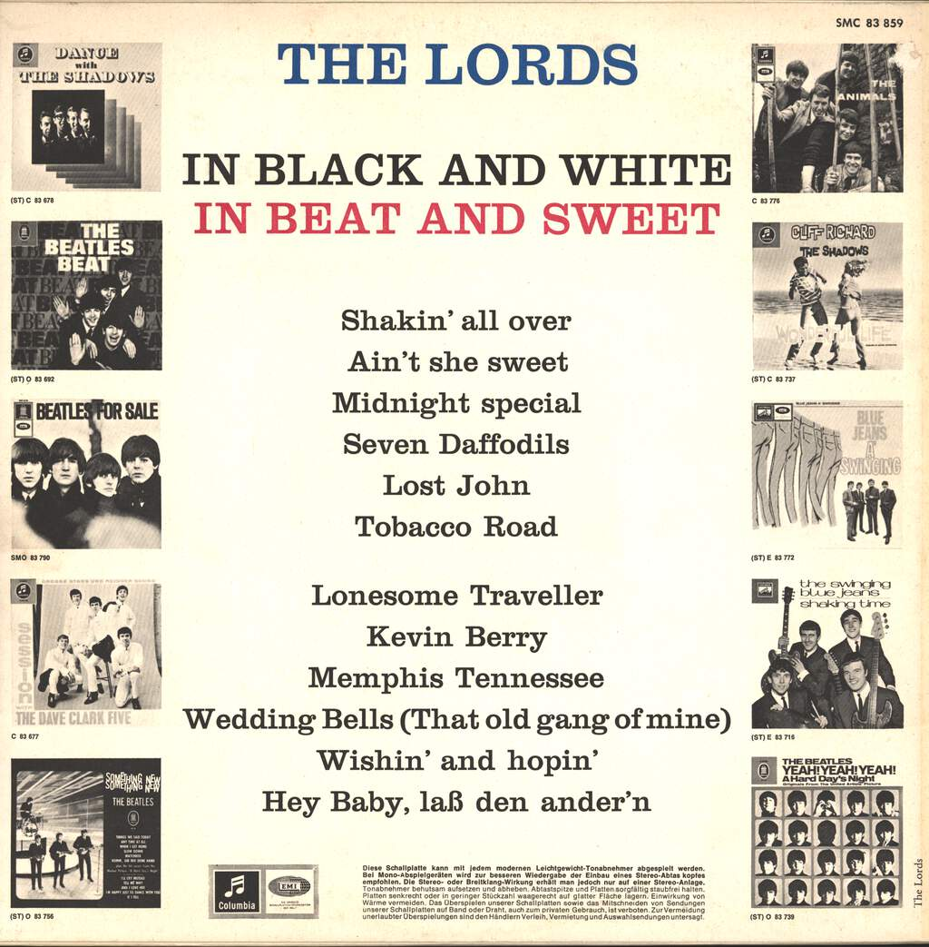 The Lords: In Black And White In Beat And Sweet, LP (Vinyl)