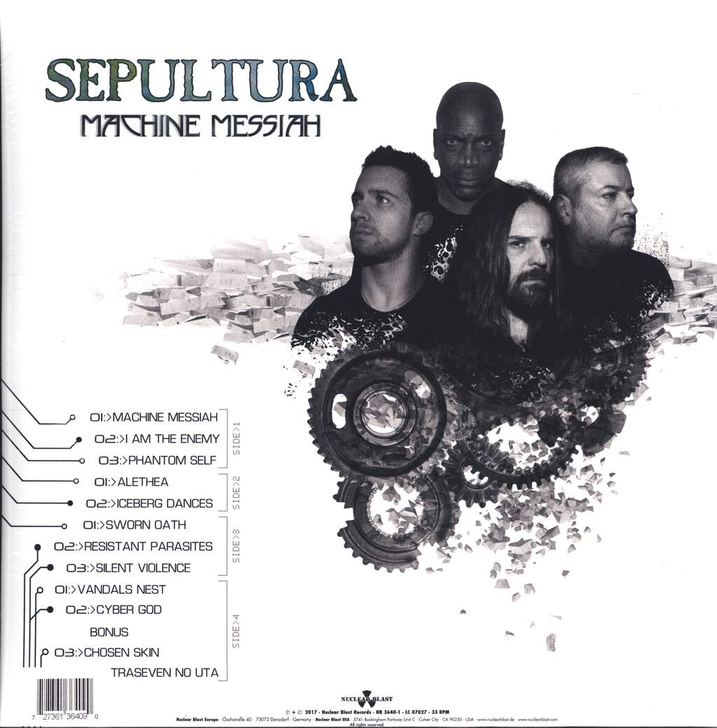 Sepultura: Machine Messiah, LP (Vinyl)
