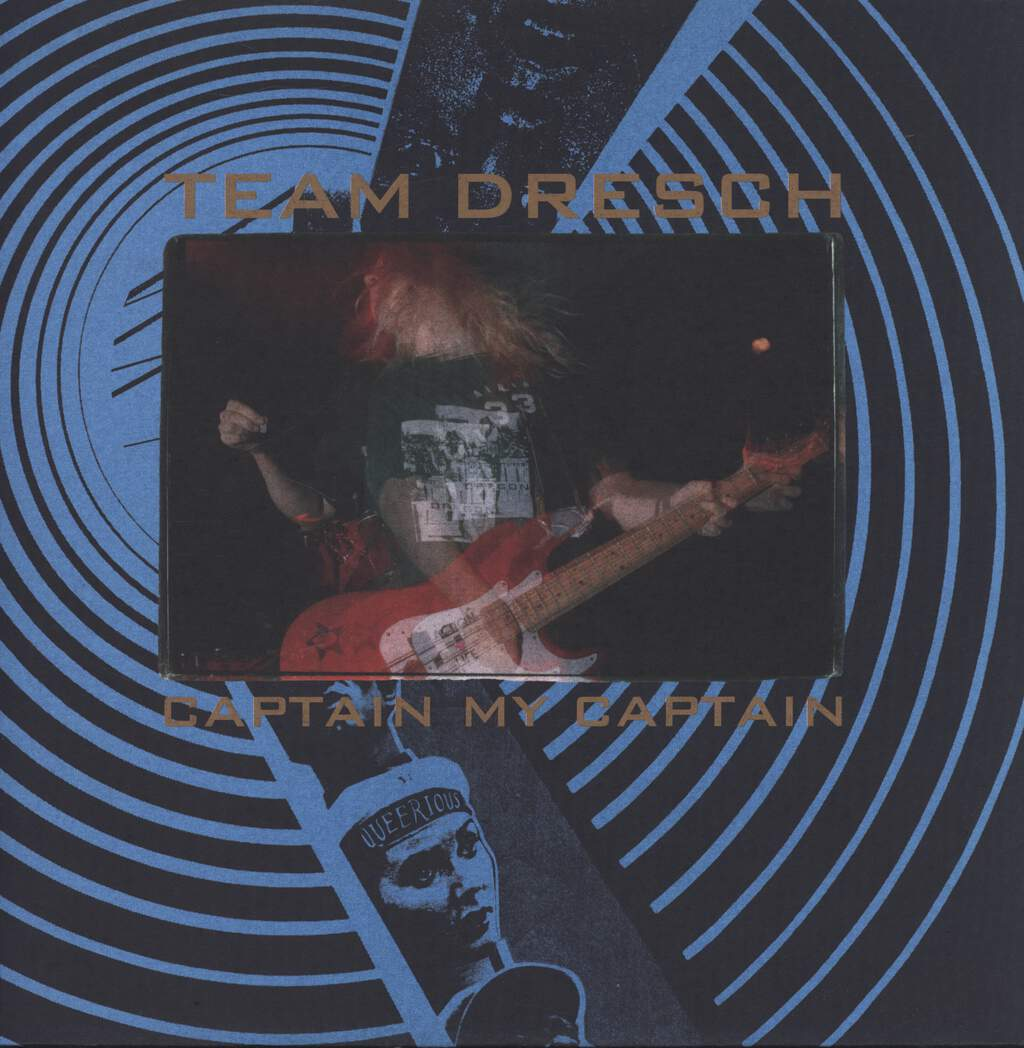 Team Dresch: Captain My Captain, LP (Vinyl)