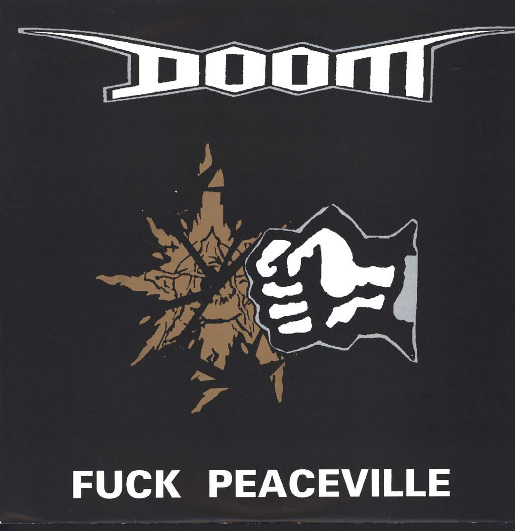 Doom: Fuck Peaceville, LP (Vinyl)