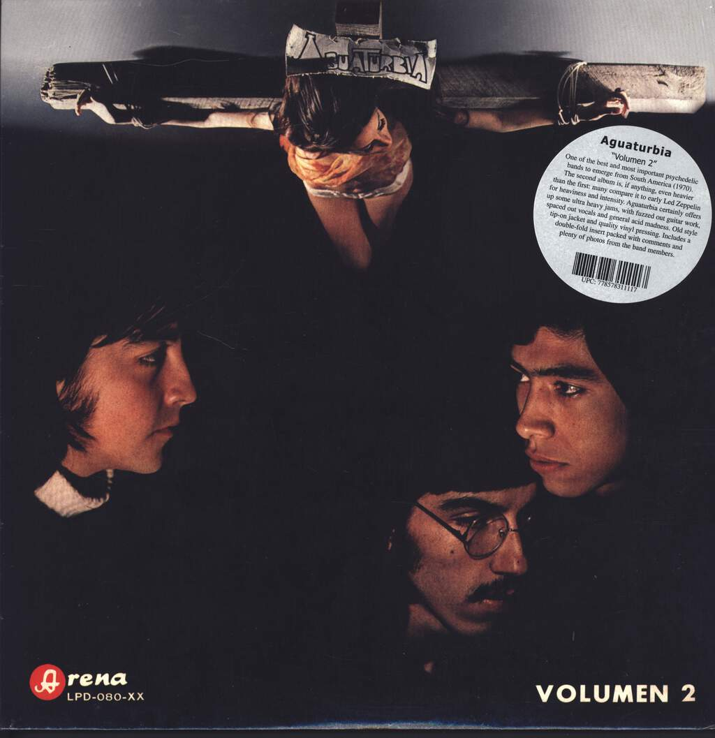 Aguaturbia: Volumen 2, LP (Vinyl)