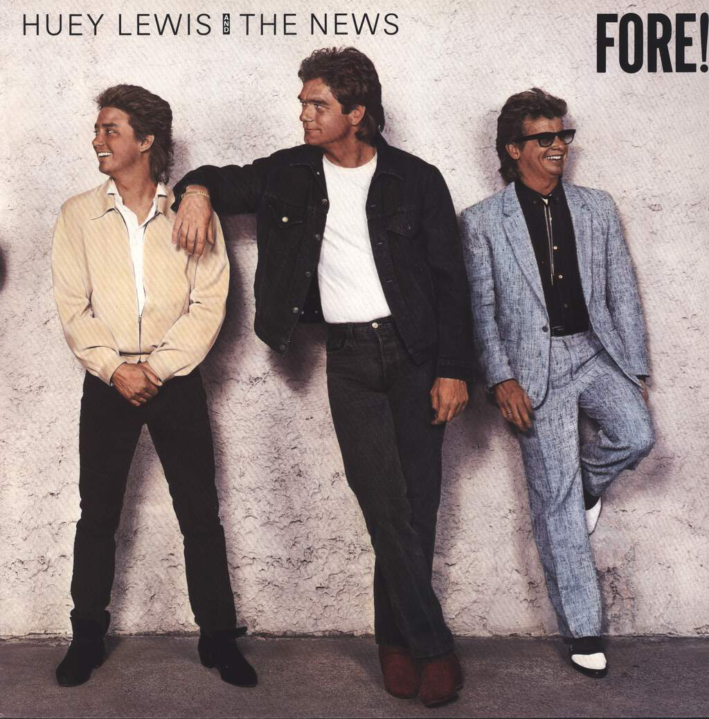 Huey Lewis & The News: Fore!, LP (Vinyl)