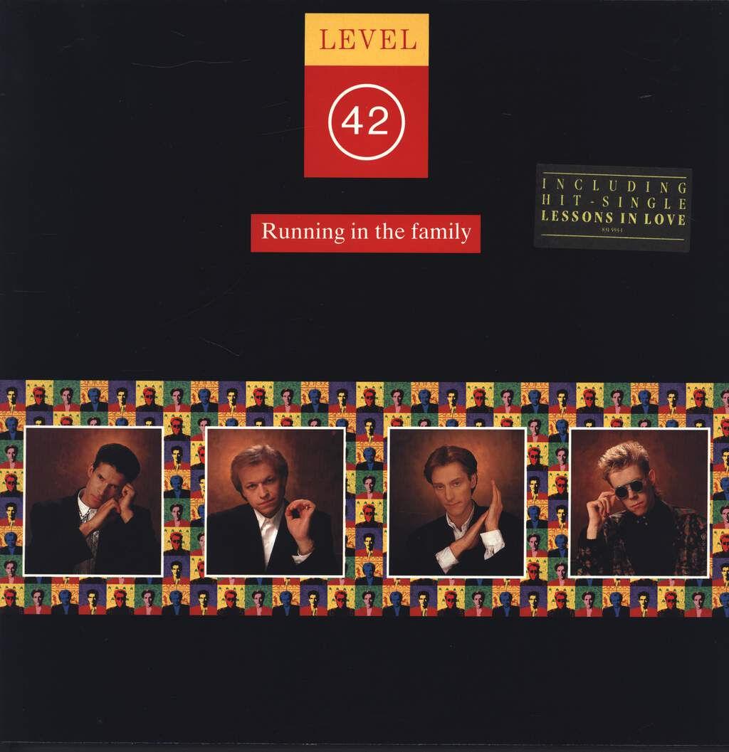 Level 42: Running In The Family, LP (Vinyl)