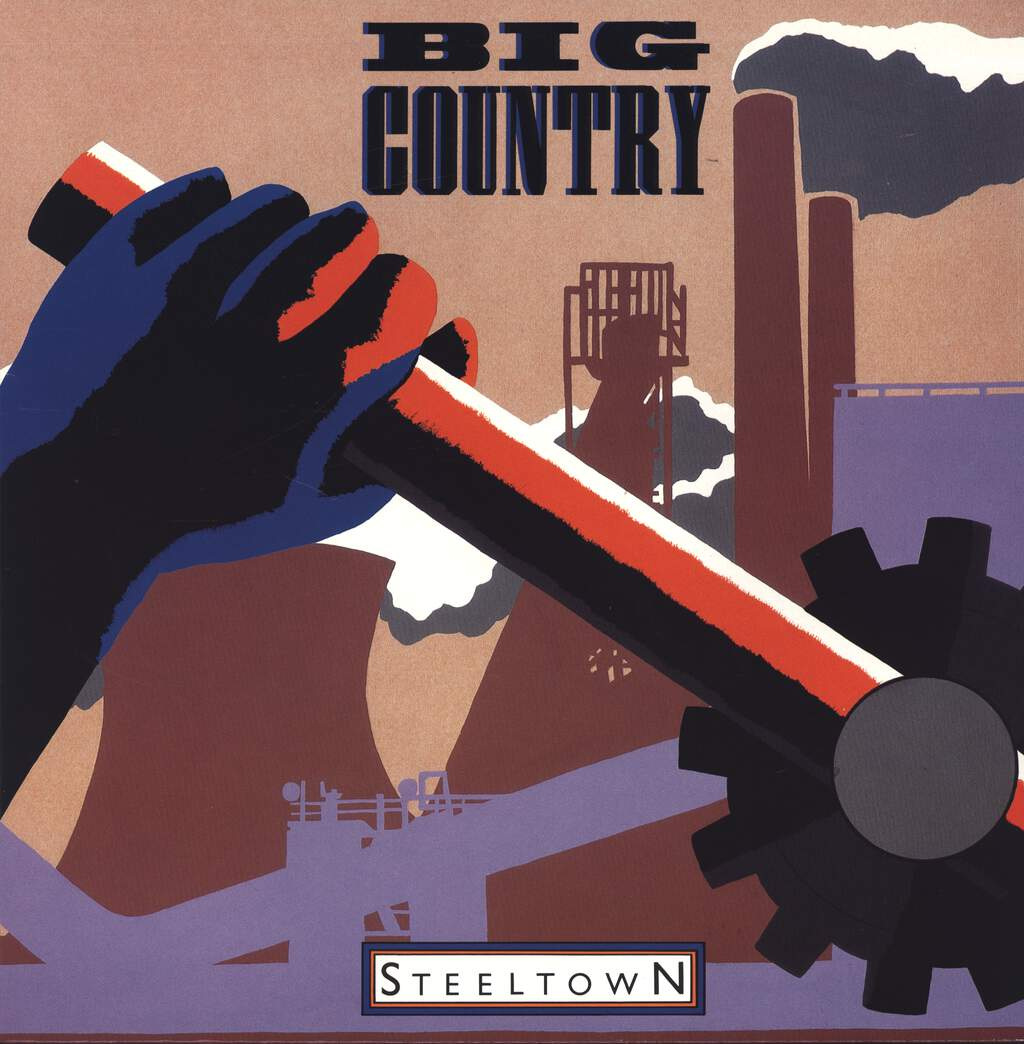 Big Country: Steeltown, LP (Vinyl)