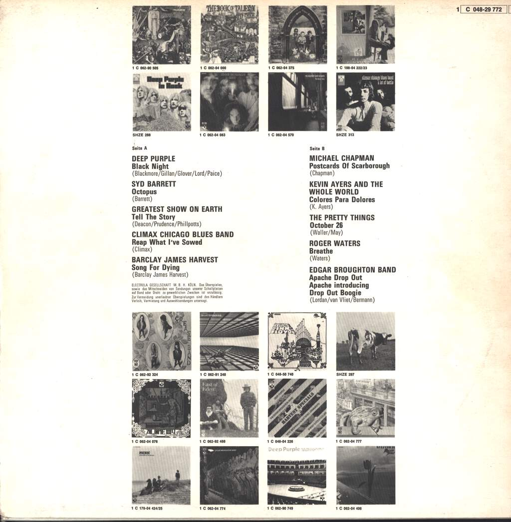 Various: Harvest Sweeties, LP (Vinyl)