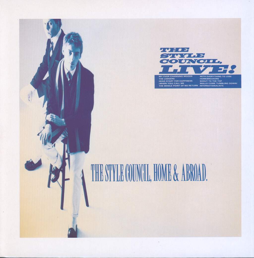 The Style Council: Home & Abroad - The Style Council, Live!, LP (Vinyl)
