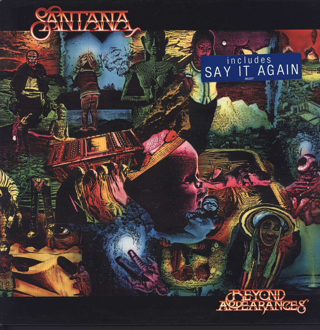 Santana: Beyond Appearances, LP (Vinyl)