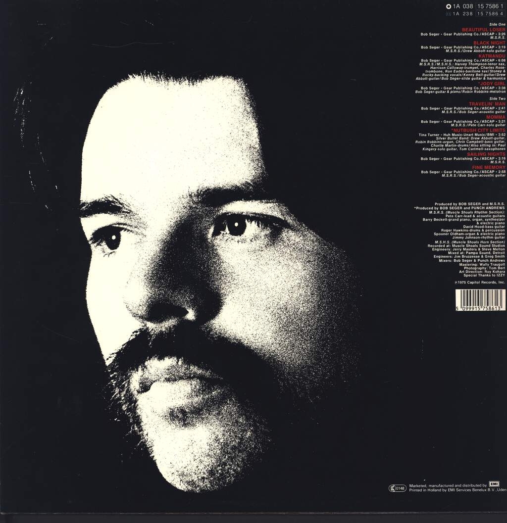 Bob Seger: Beautiful Loser, LP (Vinyl)