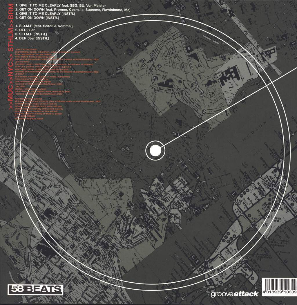 "Main Concept: >>MUC>>NYC>>STHLM>>BRM, 12"" Maxi Single (Vinyl)"