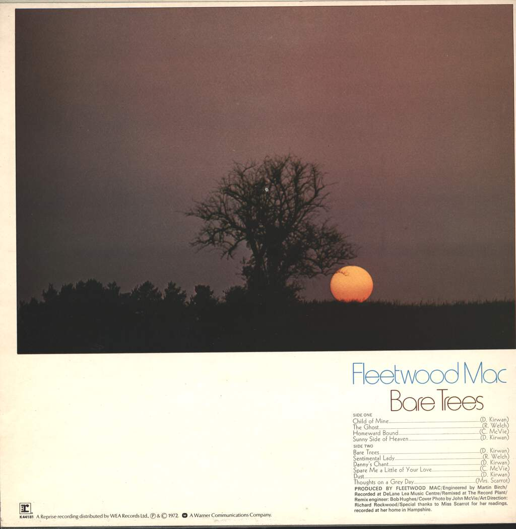 Fleetwood Mac: Bare Trees, LP (Vinyl)