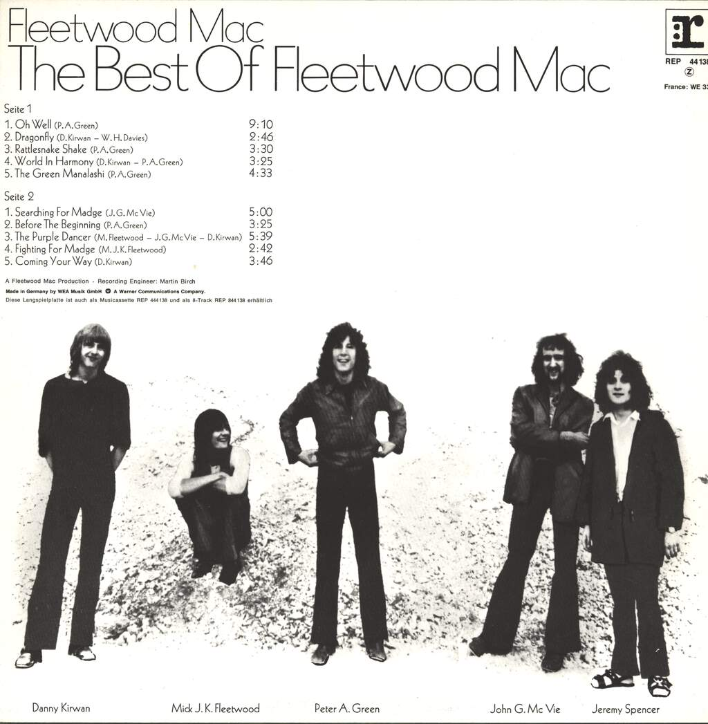 Fleetwood Mac: The Best Of Fleetwood Mac, LP (Vinyl)