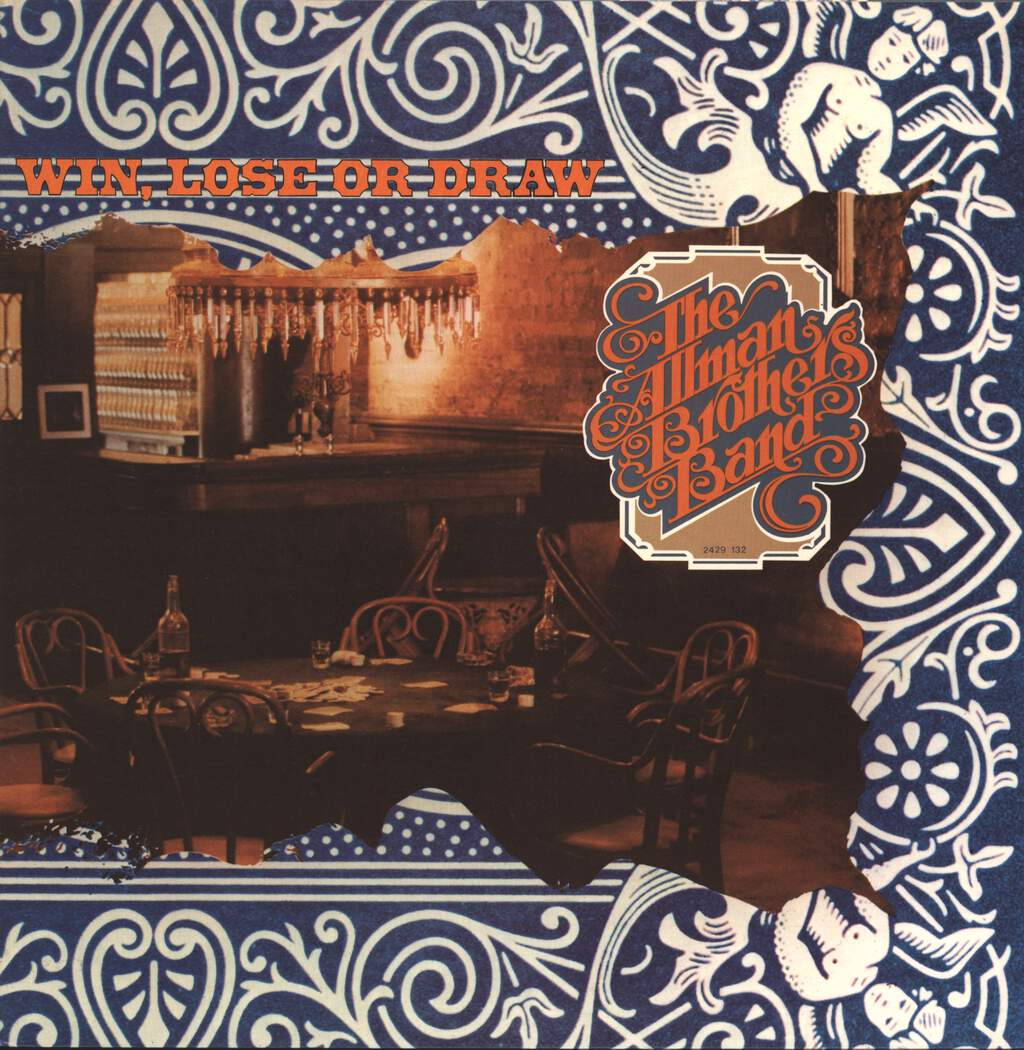 The Allman Brothers Band: Win, Lose Or Draw, LP (Vinyl)