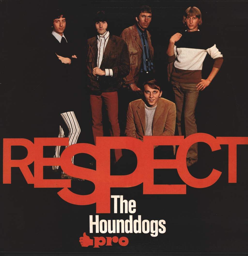 The Hound Dogs: Respect, LP (Vinyl)