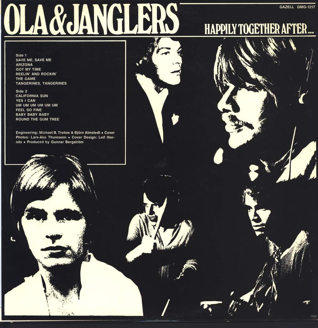 Ola & The Janglers: Happily Together After..., LP (Vinyl)
