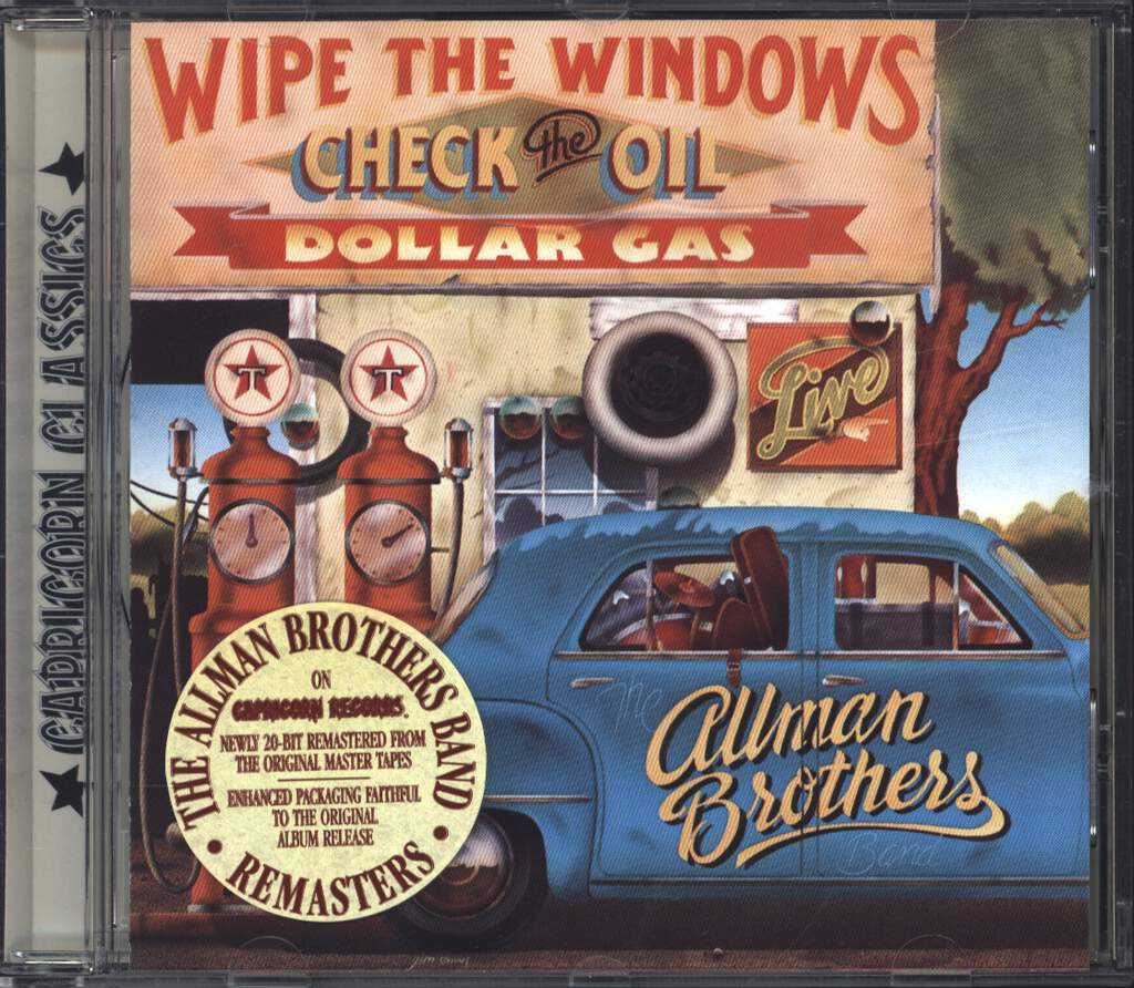 The Allman Brothers Band: Wipe The Windows, Check The Oil, Dollar Gas, CD