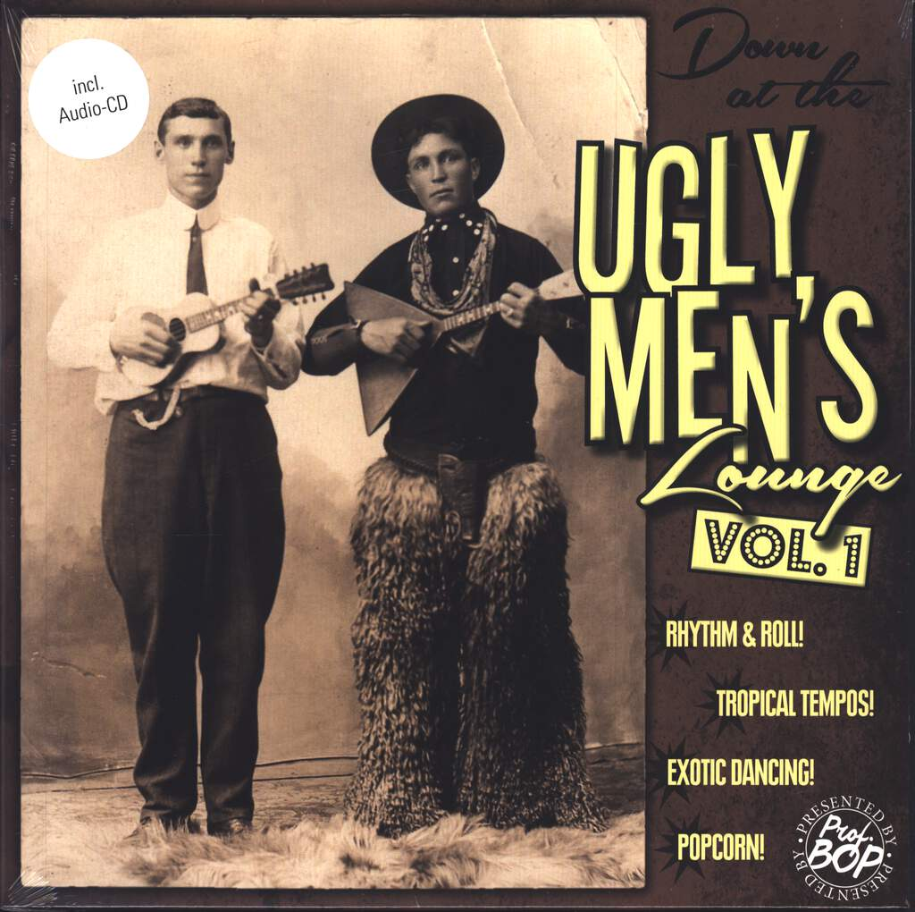 "Various: Down At The Ugly Men's Lounge Vol. 1, 10"" Vinyl EP"