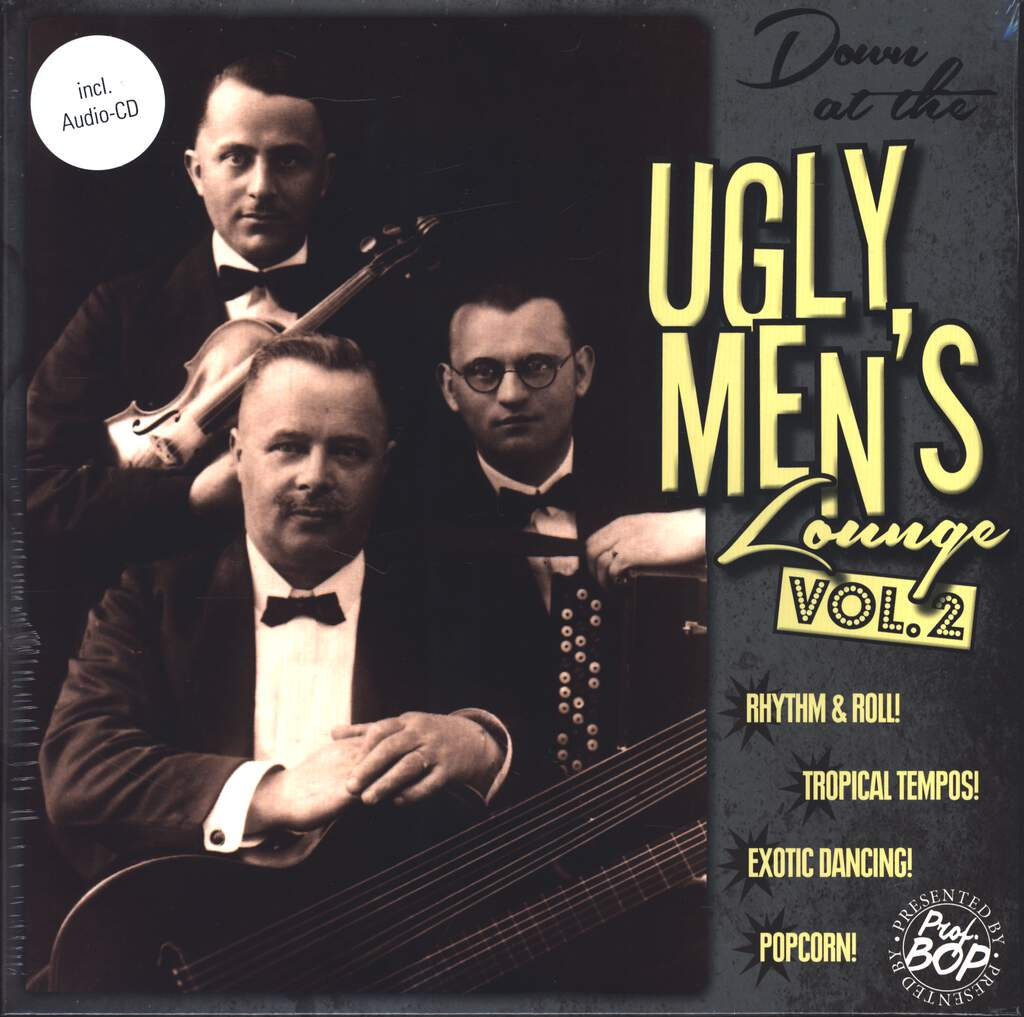 "Various: Down At The Ugly Men's Lounge Vol. 2, 10"" Vinyl EP"