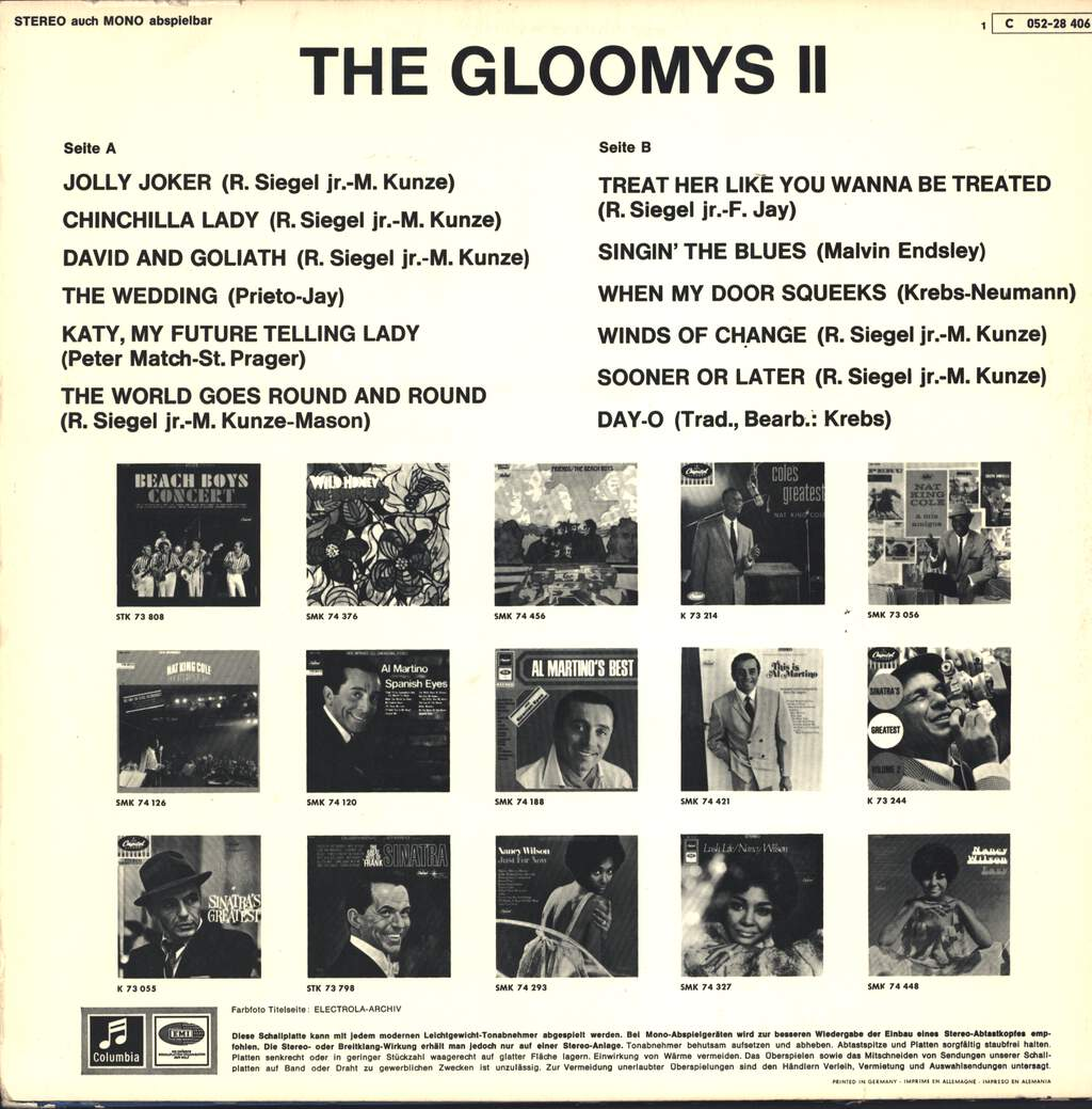 The Gloomys: Two, LP (Vinyl)