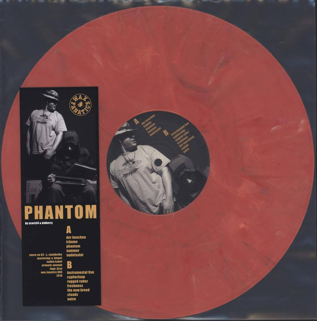 "Score34: Phantom, 12"" Maxi Single (Vinyl)"