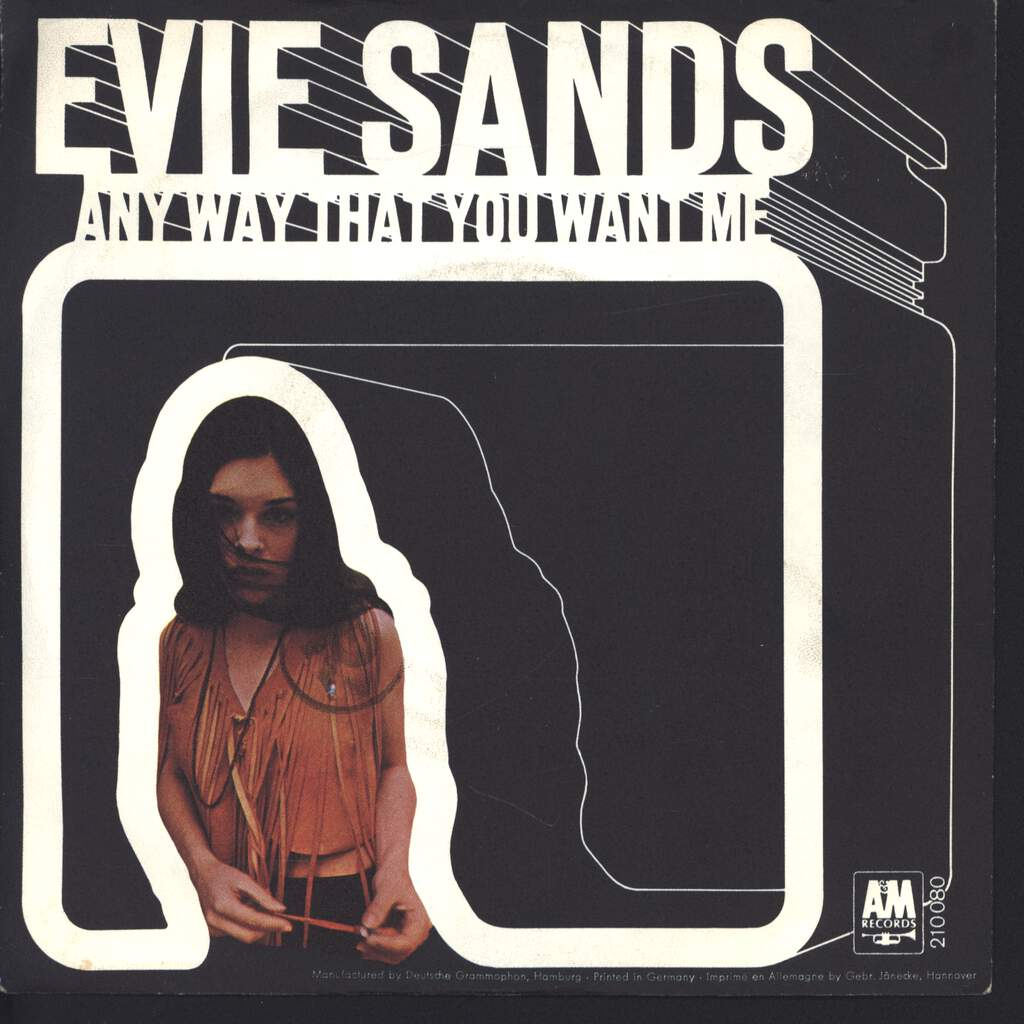 "Evie Sands: Any Way That You Want Me, 7"" Single (Vinyl)"
