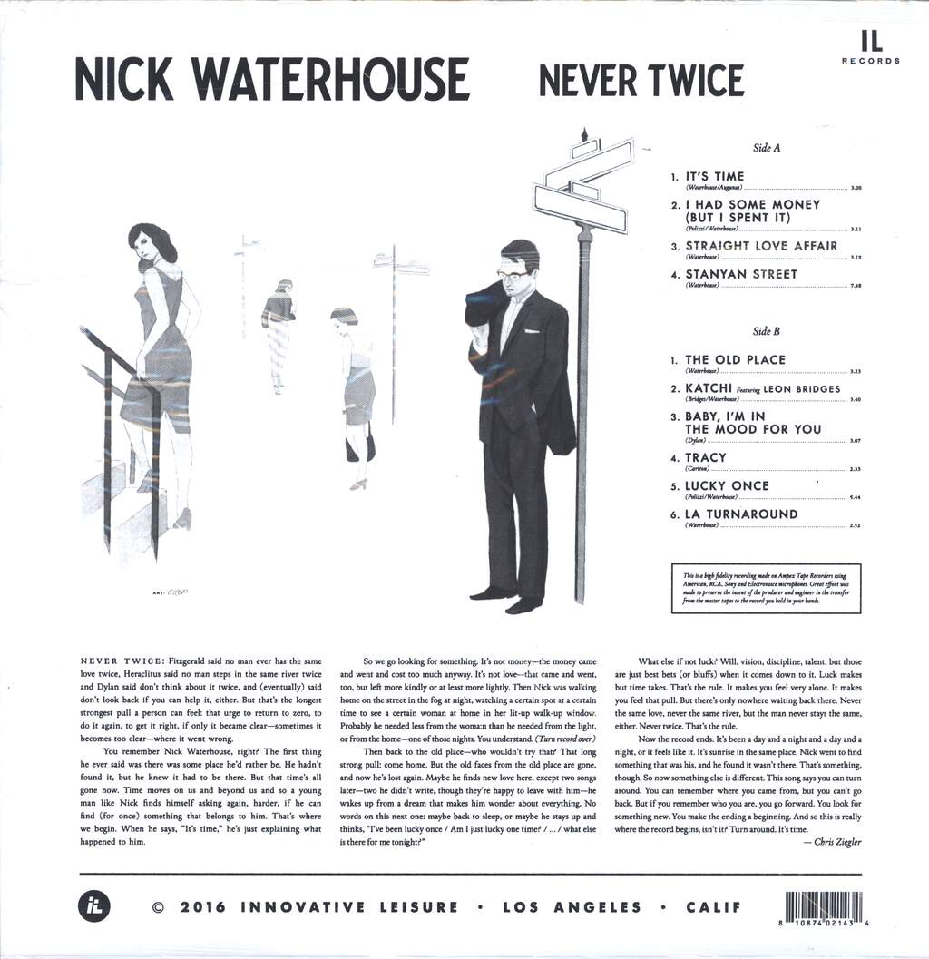 Nick Waterhouse: Never Twice, LP (Vinyl)
