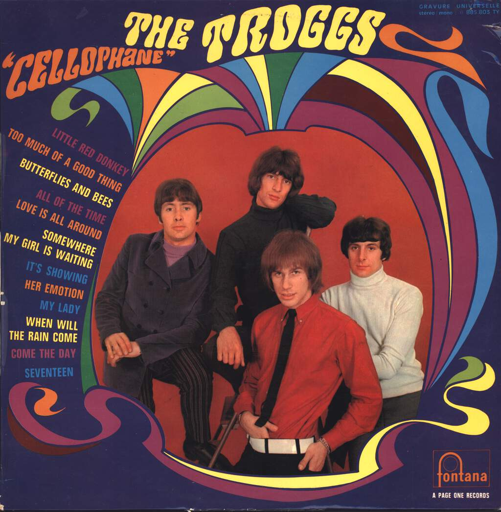 "The Troggs: ""Cellophane"", LP (Vinyl)"
