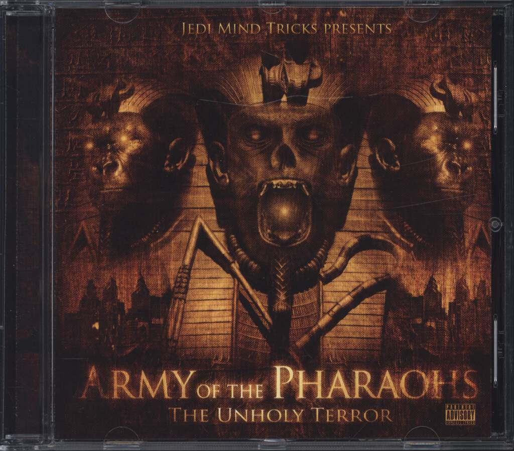 Jedi Mind Tricks: The Unholy Terror, CD