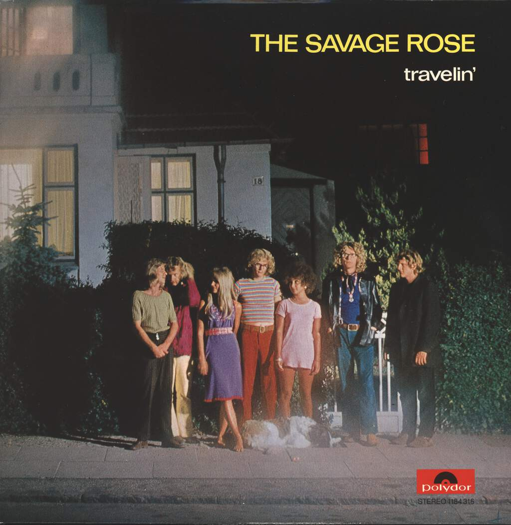 Savage Rose: Travelin', LP (Vinyl)