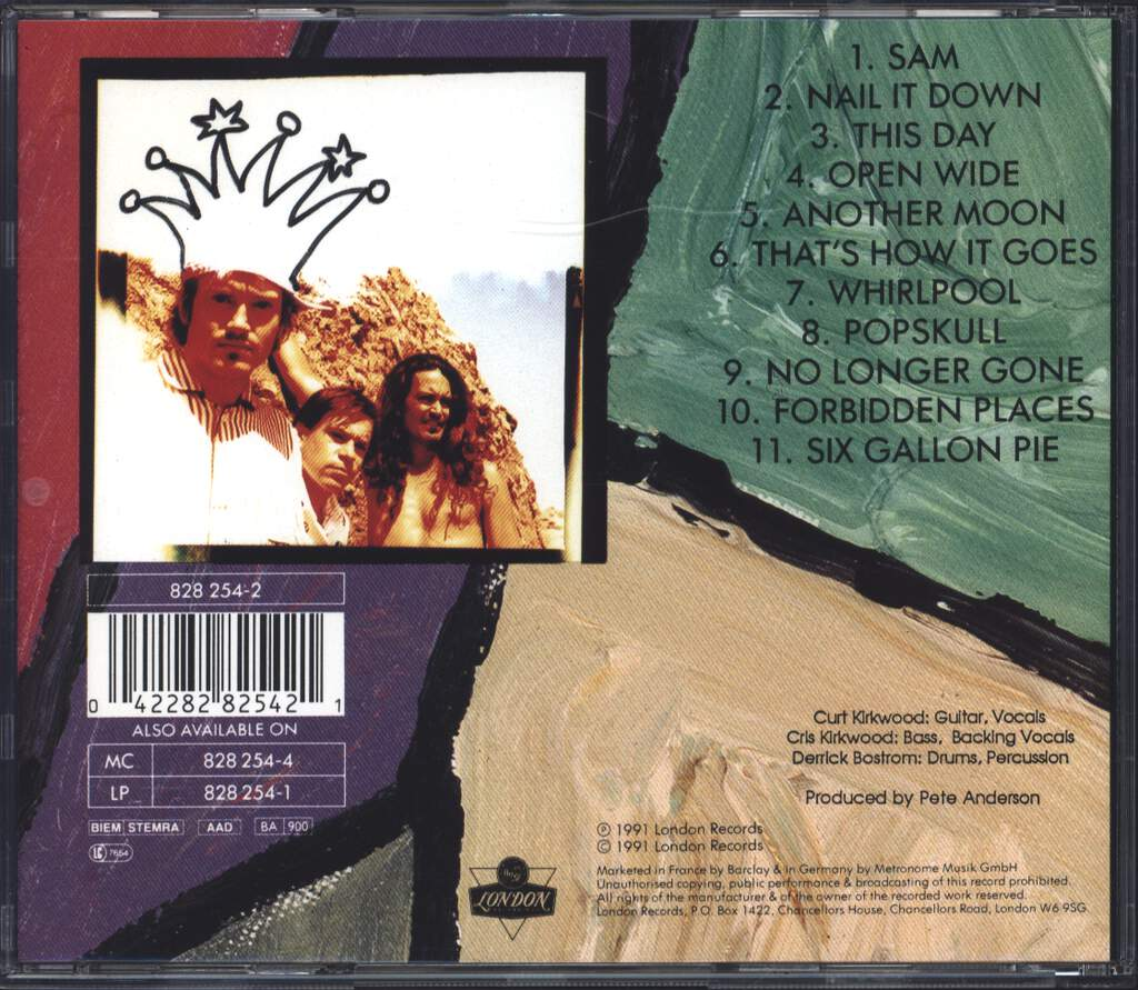 Meat Puppets: Forbidden Places, CD