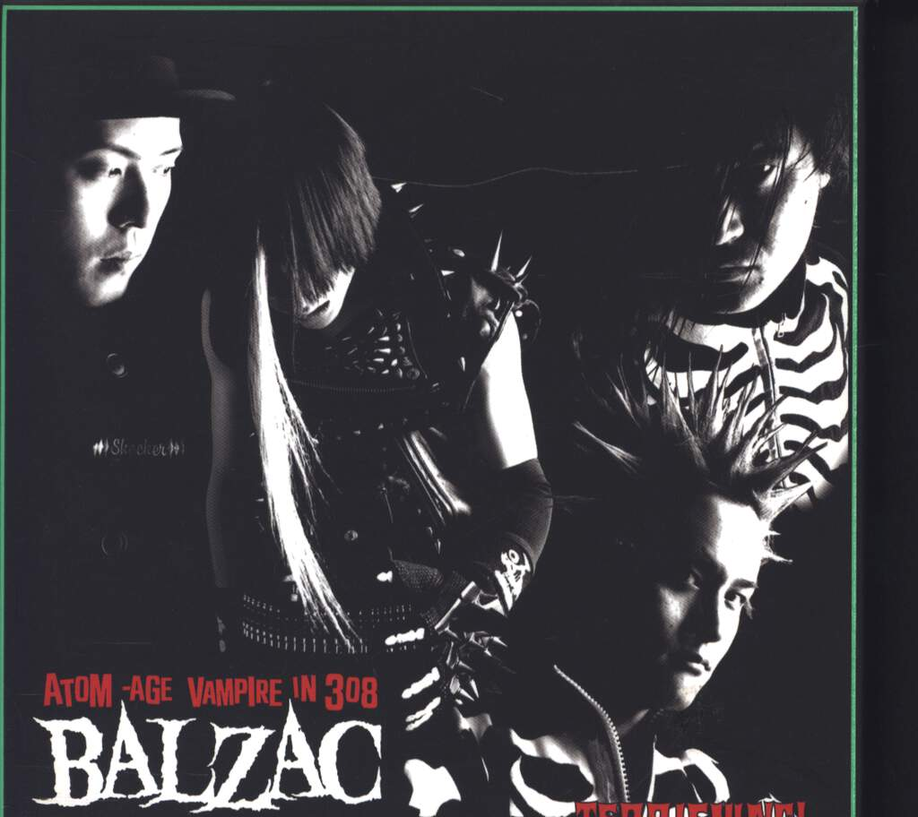Balzac: Terrifying! Art Of Dying-The Last Men On Earth II, CD
