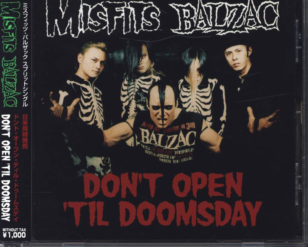 Misfits: Don't Open 'Til Doomsday, Mini CD