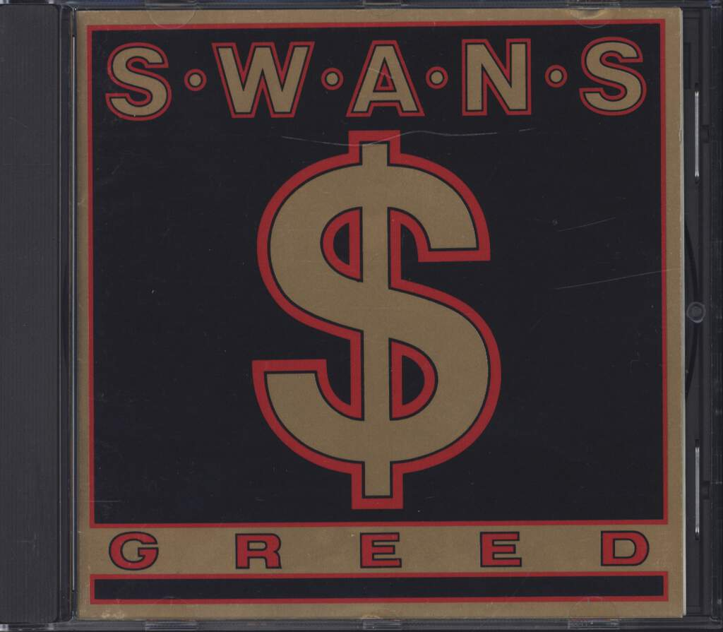 Swans: Greed, CD