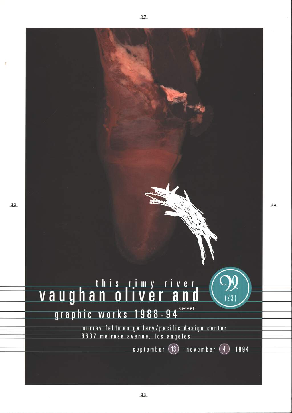Vaughan Oliver / v23: This Rimy River, Book