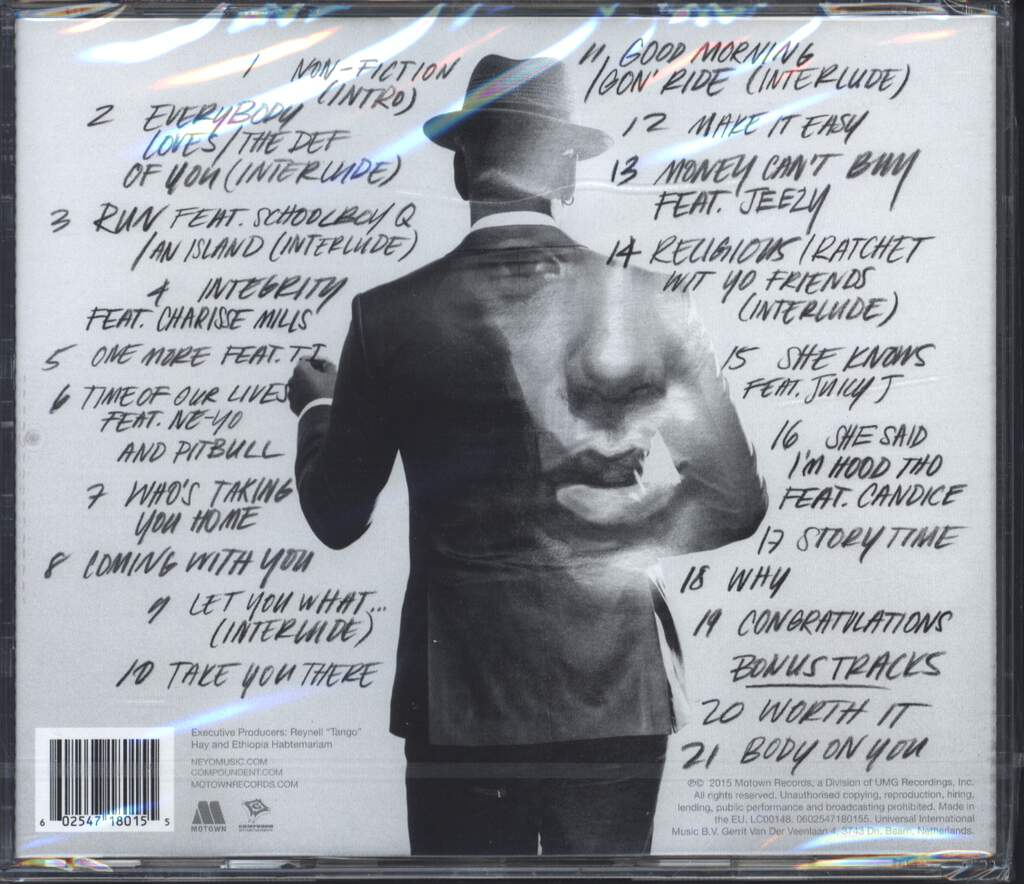 Ne-Yo: Non-Fiction, CD