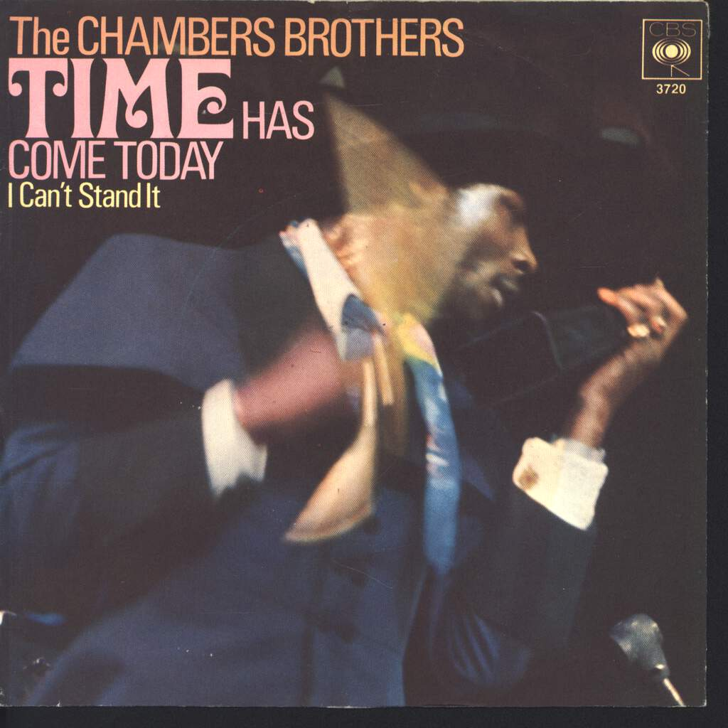 """The Chambers Brothers: Time Has Come Today, 7"""" Single (Vinyl)"""