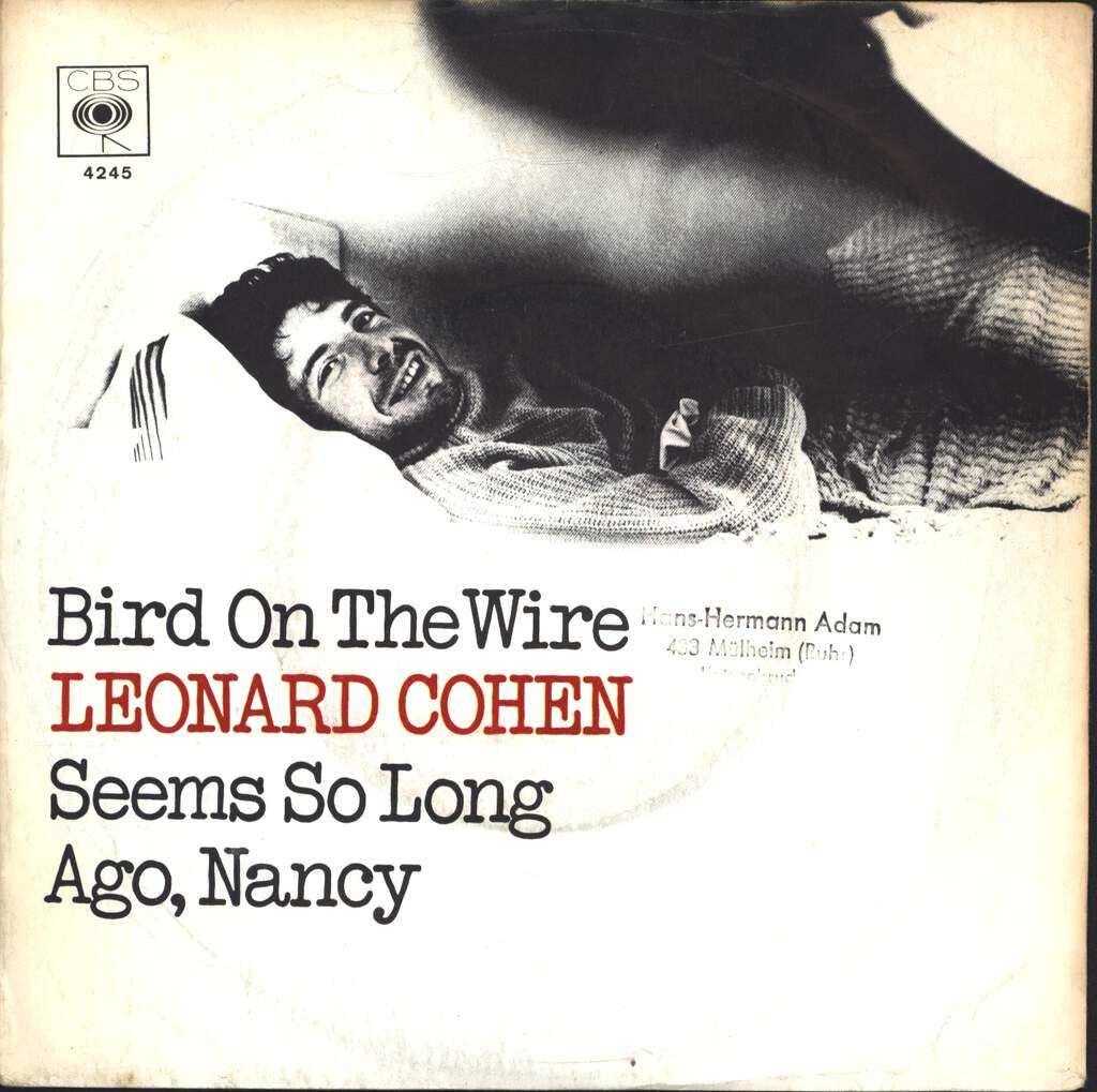 "Leonard Cohen: Bird On The Wire, 7"" Single (Vinyl)"