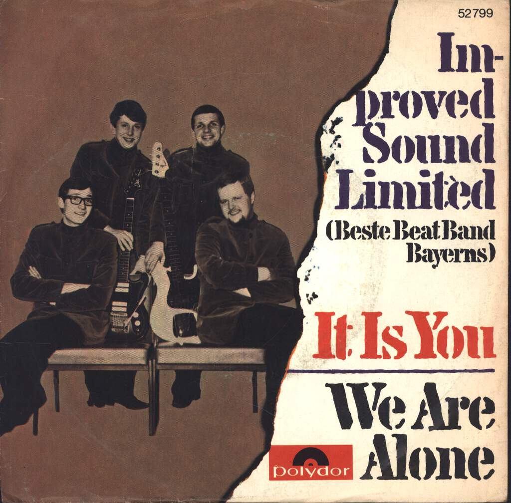 "Improved Sound Ltd.: It Is You / We Are Alone, 7"" Single (Vinyl)"