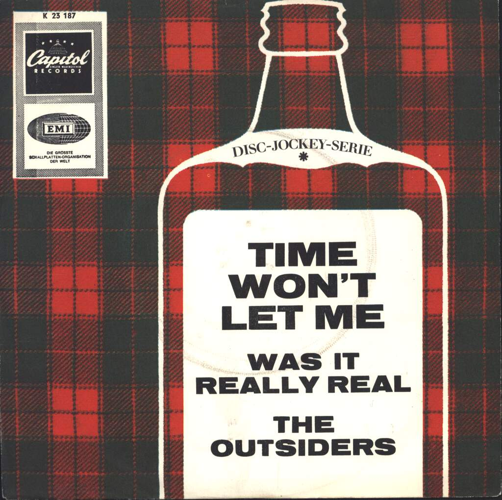 "The Outsiders: Time Won't Let Me / Was It Really Real, 7"" Single (Vinyl)"