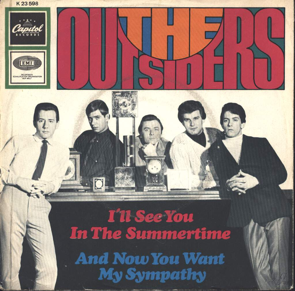 "The Outsiders: I'll See You In The Summertime, 7"" Single (Vinyl)"