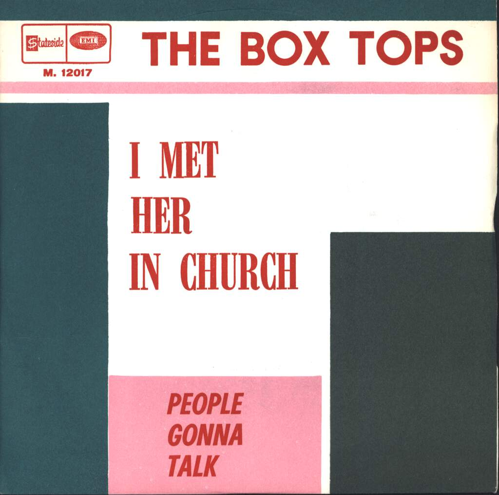 "Box Tops: I Met Her In Church / People Gonna Talk, 7"" Single (Vinyl)"