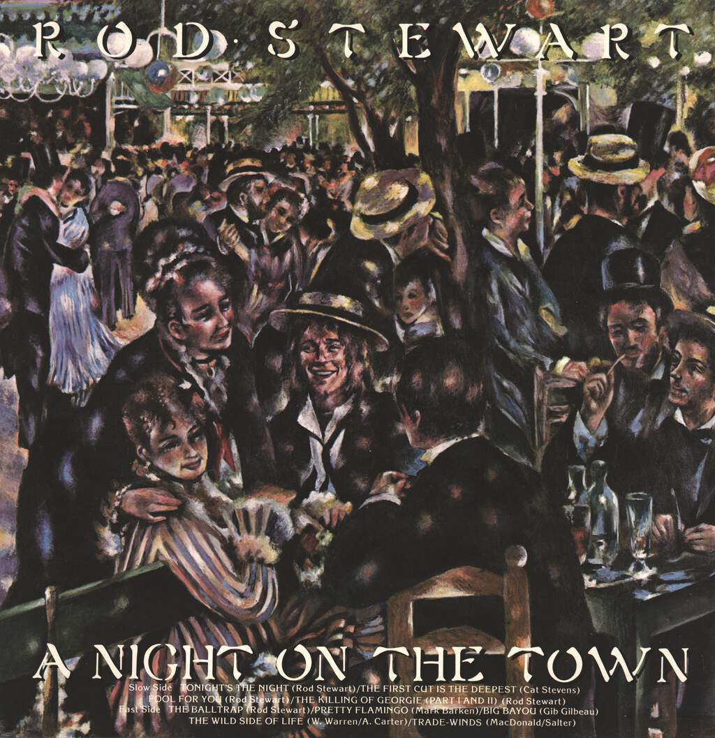 Rod Stewart: A Night On The Town, LP (Vinyl)