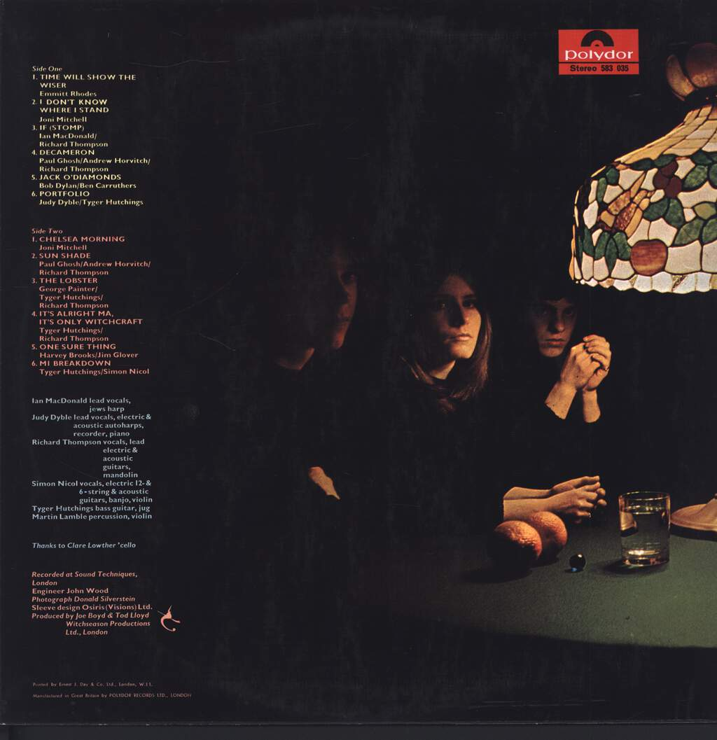 Fairport Convention: Fairport Convention, LP (Vinyl)