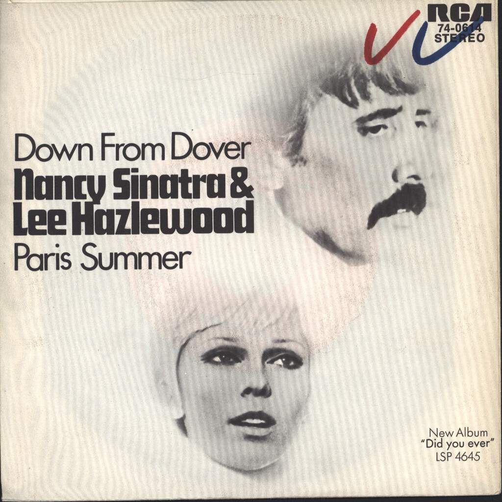 "Nancy Sinatra & Lee Hazlewood: Down From Dover / Paris Summer, 7"" Single (Vinyl)"