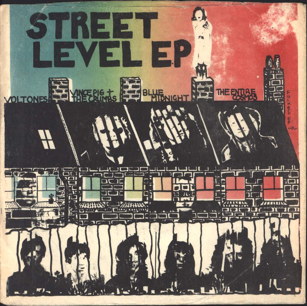 "Various: Street Level EP, 7"" Single (Vinyl)"