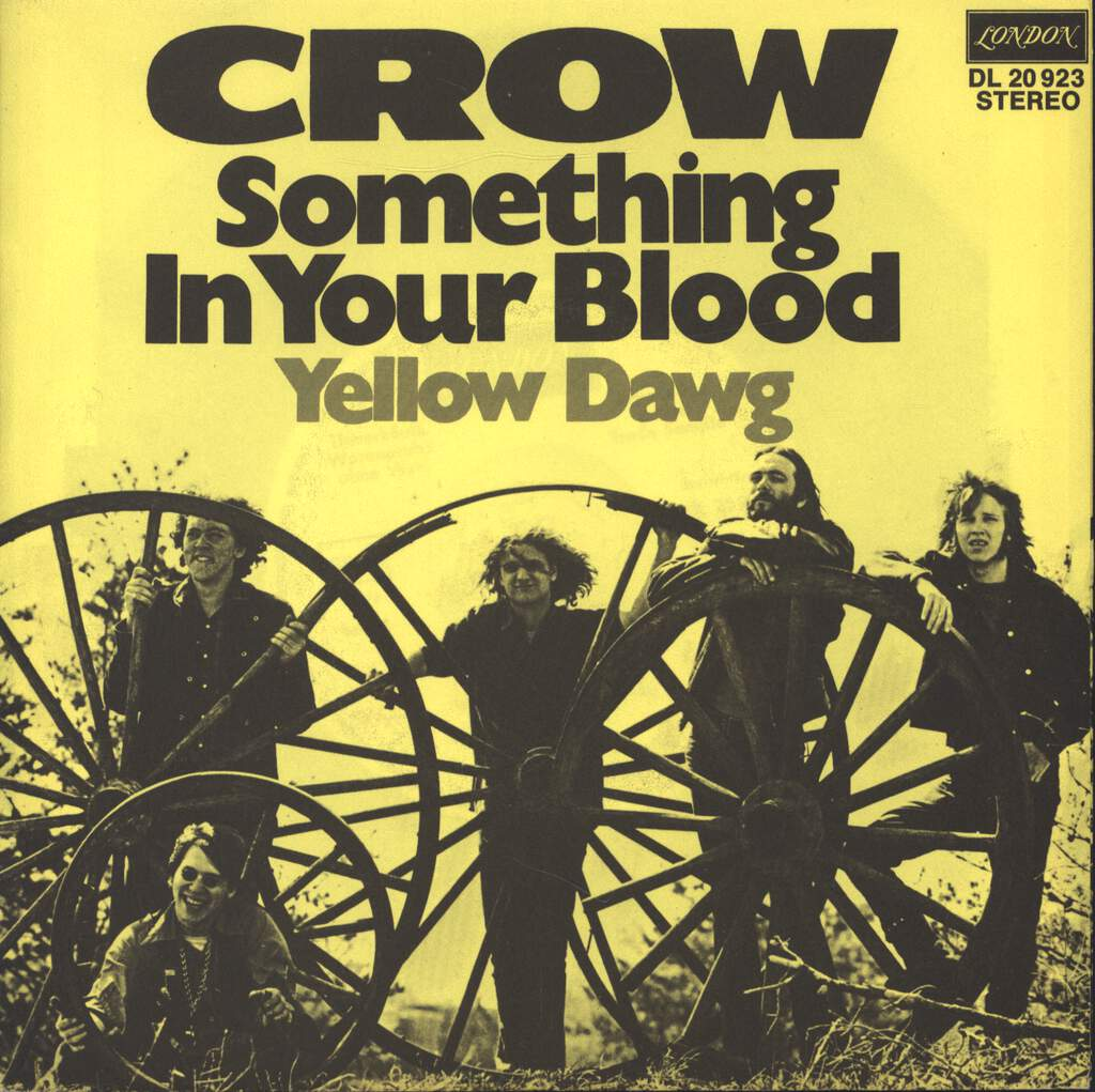 "Crow: Something In Your Blood, 7"" Single (Vinyl)"