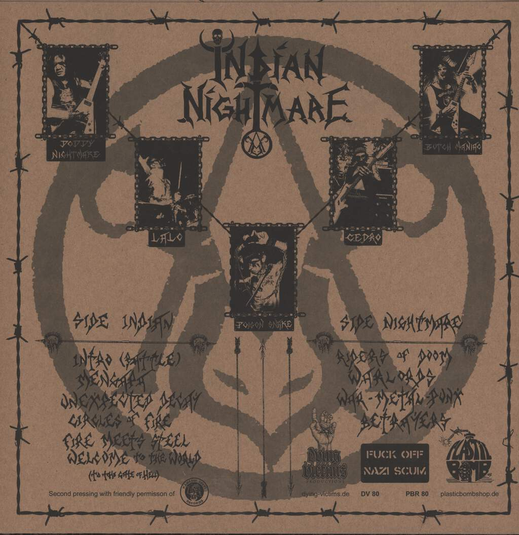 Indian Nightmare: Taking Back The Land, LP (Vinyl)
