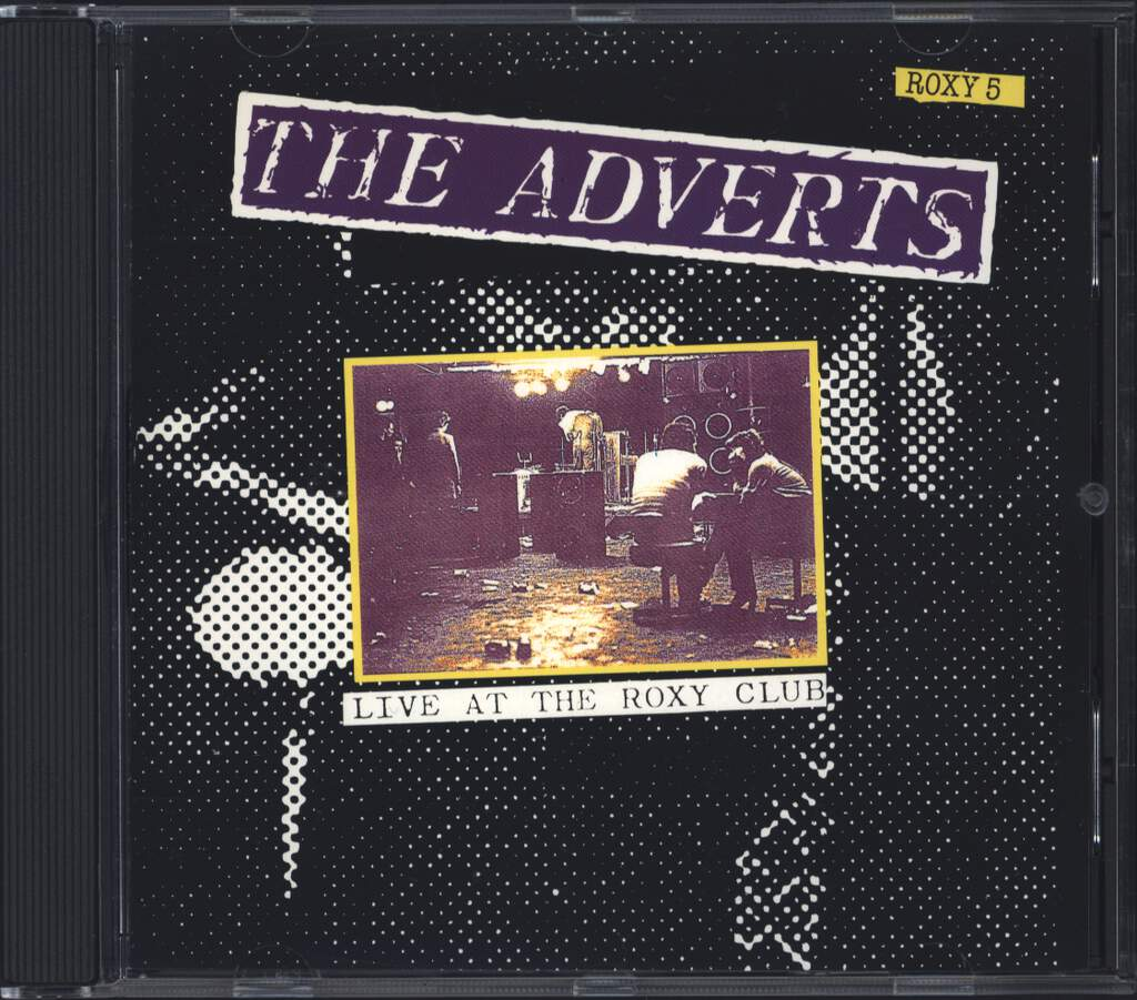 The Adverts: Live At The Roxy Club, CD