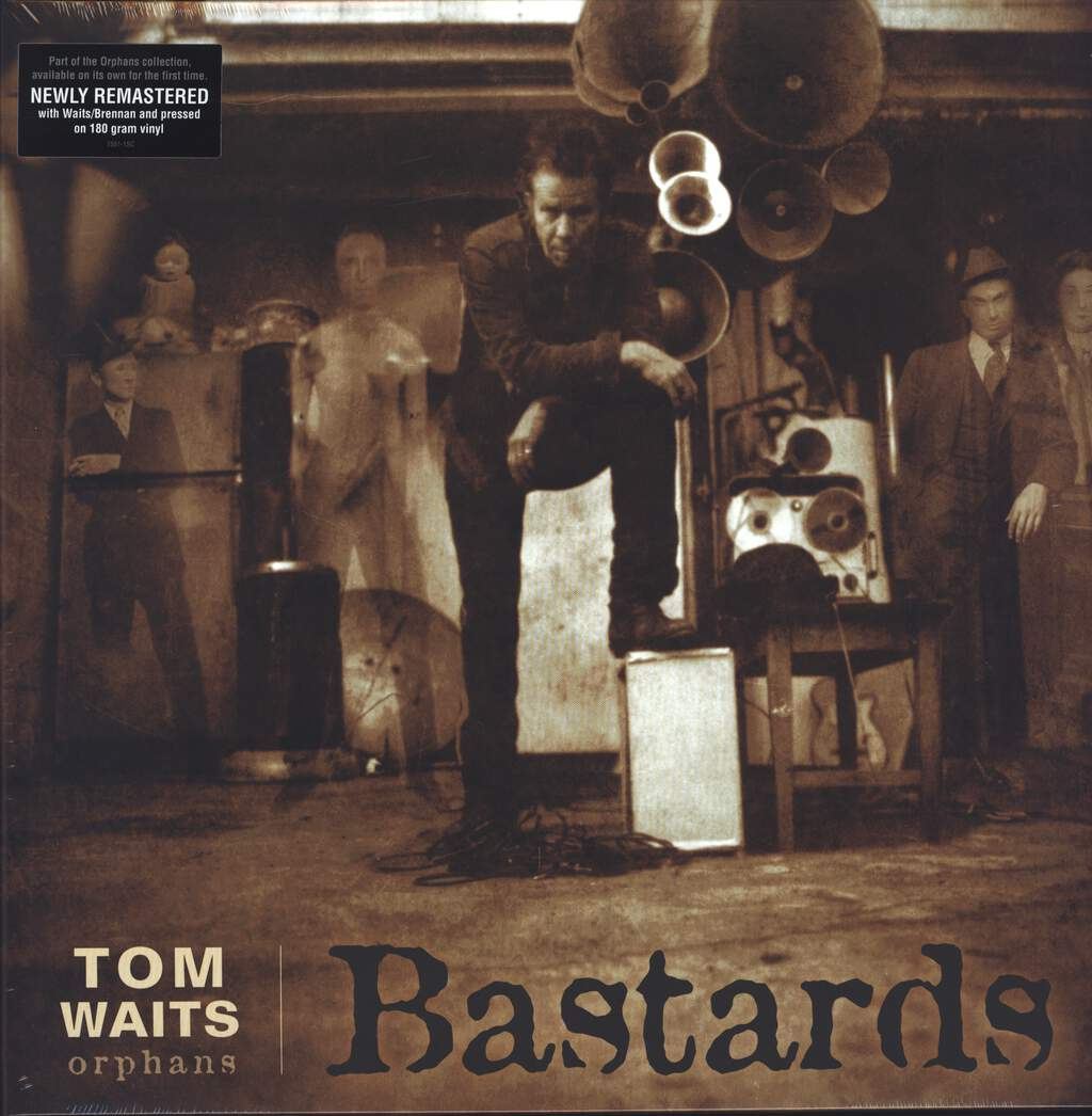 Tom Waits: Bastards, 2×LP (Vinyl)